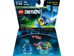 Lego 71214 Dimensions Fun Pack - The LEGO Movie Benny and Benny's Spaceship