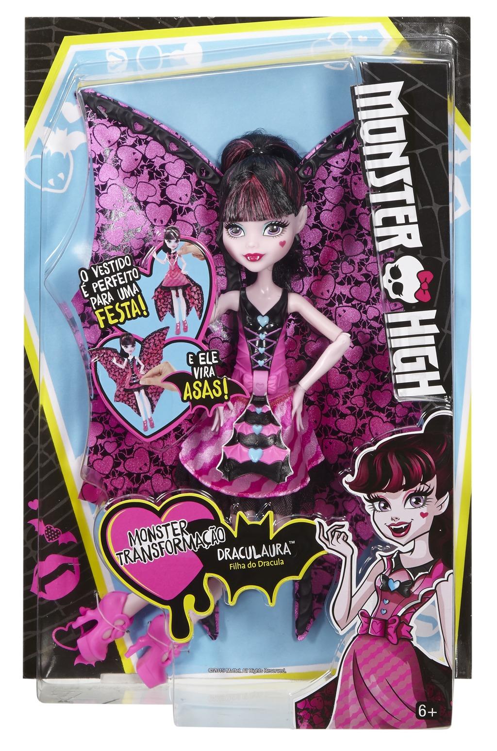 All4toys Monster High netopýrka Draculaura
