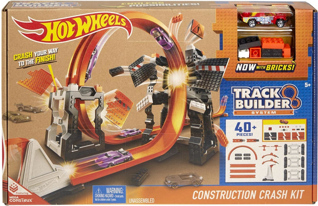 All4toys Hot wheels track builder bourací set